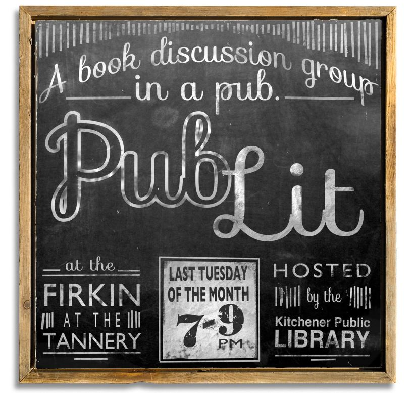 Books and beer: Join us at The Firkin at the Tannery, 121 Charles St. W.
