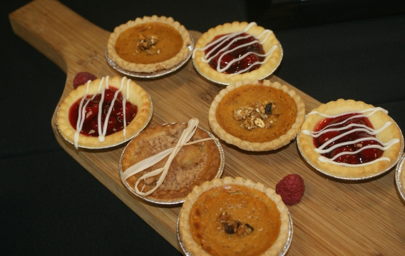 Beautiful autumn tarts