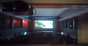 March Break Movies: the view from the projection room.