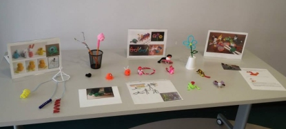 Samples of crafts to fire up the imagination.