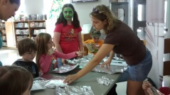 Face painting at Pioneer Park/Doon Pioneer Park Community Centre