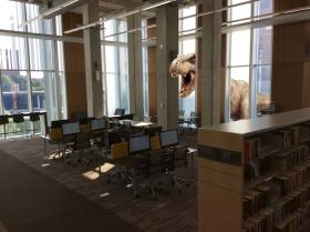 Jurassic Library - Digital animation workshop