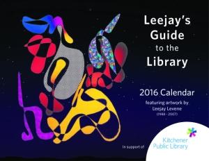 Leejay Calendar