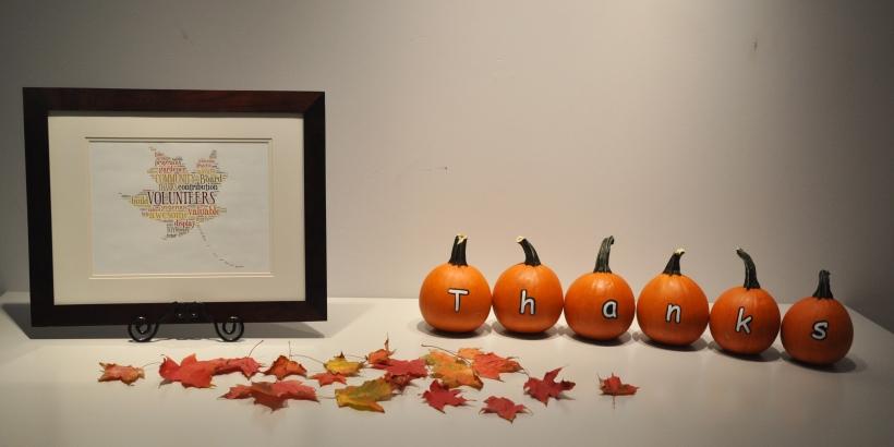 Thank you pumpkins