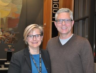 Librarian Karen Ball-Pyatt led the Meet the Author book club.