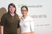 Welcome, TransitionKW! Thanks for holding your AGM at Central Library.