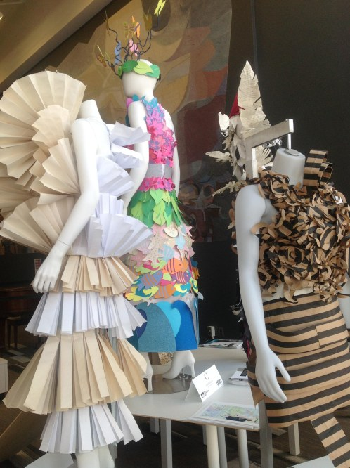 A fashion display by merchandising students from Conestoga College.