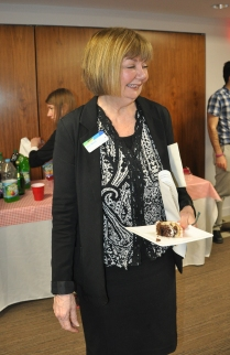 Ann Wood's retirement party