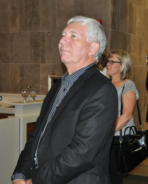 Former mayor Carl Zehr