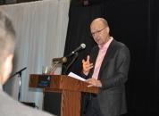Keynote speaker Gerry Remers