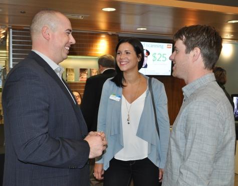 KPL board member Jessica Kropf and guests