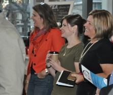 Karen Schulman Dupuis, Stephanie Rozek, and KPL CEO Mary Chevreau
