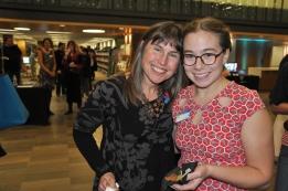Liana Kreamer and artist Meg Harder