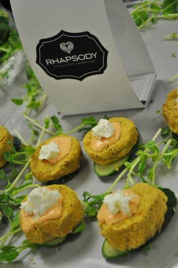 Great food from Rhapsody Barrel Bar