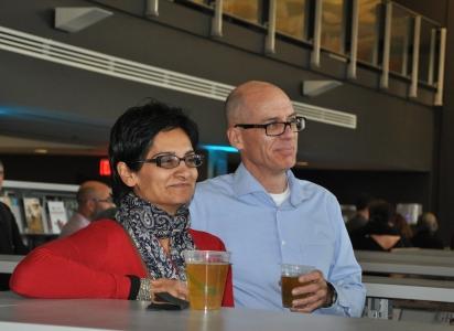 Author Tasneem Jamal and Craig Daniels of Communitech