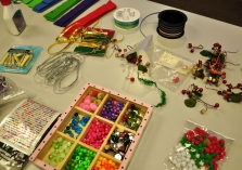 A chance to craft a holiday corsage