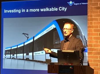 Rod Regier, planning commissioner at Region of Waterloo