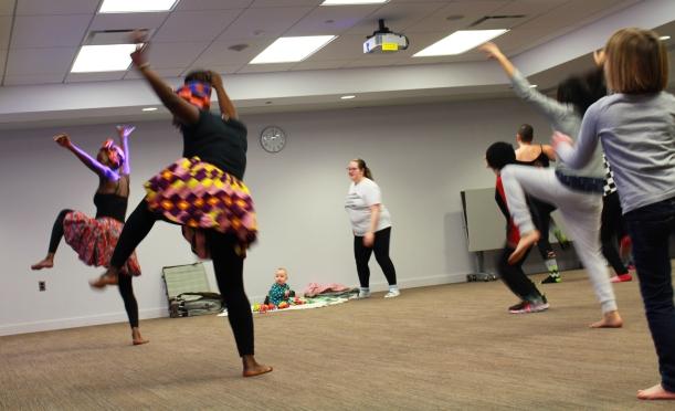 afro dance workshop