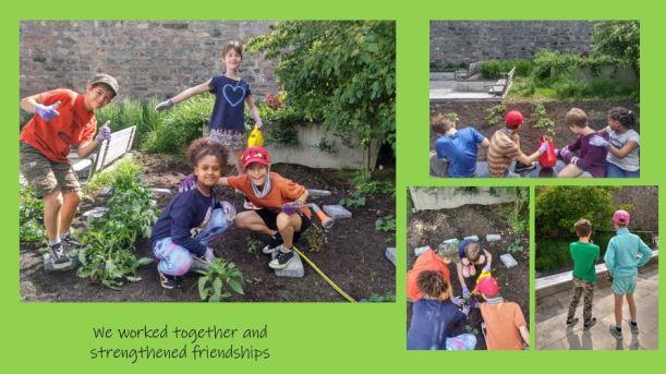 kids garden collage 2