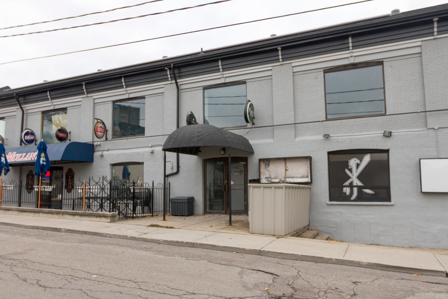 A photo of the location of The Order on Princess Street in UpTown Waterloo. It was the last LGBTQ+ bar in Waterloo Region.